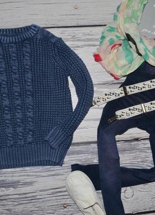 2 - 3 года 98 см обалденно стильный и эффектный свитер джемпер мальчику