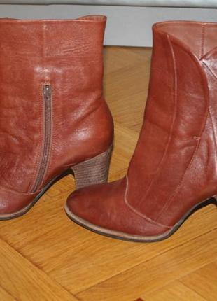 Ботинки осень натуральная кожа2