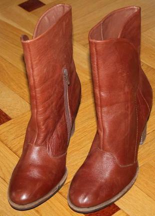 Ботинки осень натуральная кожа3