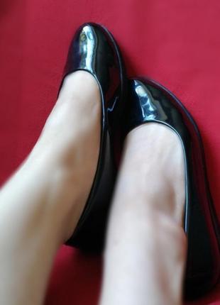Кожа туфли фирма clarks,балетки,туфельки,осенние,брендовые, удобные