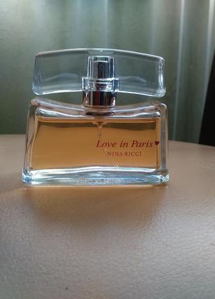 Купить духи nina ricci love in paris оригинал духи esti lader noir купить в интернете