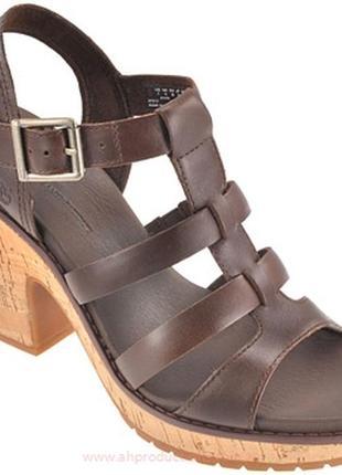 Тимберленд кожаные супер удобные фирменные босоножки