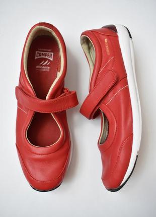 38/25 см – vip! camper – кожаные туфли мокасины – новые