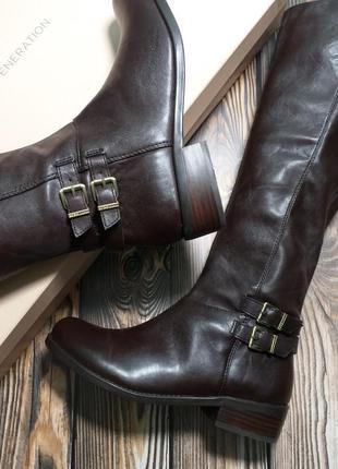 Bcbgeneration оригинал сапоги на низком каблуке коричневые бренд из сша