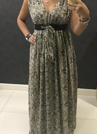 Сарафан, платье в пол , l pole&pole