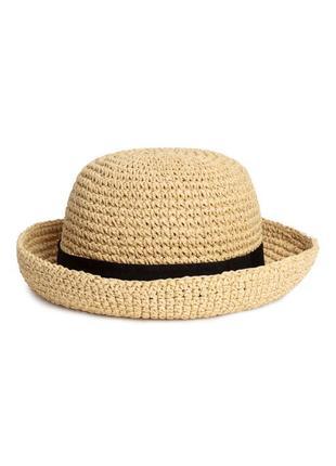Соломенная шляпа h&m р.м