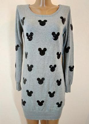 Крутой брендовый свитер- платье