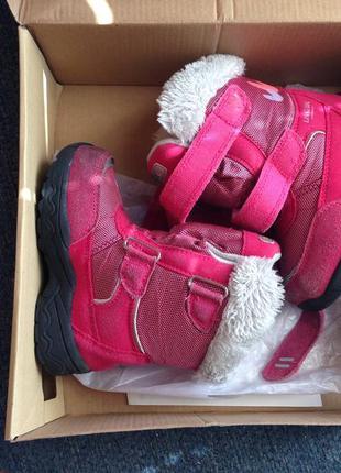 Зимние демисезонные мембранные ботинки сапожки reima 24