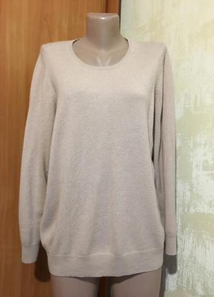 Мягкий кашемировый джемпер,свитер.100%кашемир