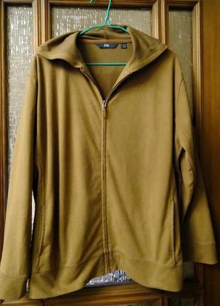 Классная куртка  с капюшоном под замшу