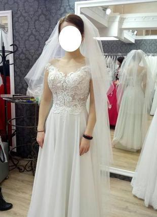 Свадебное платье4 фото