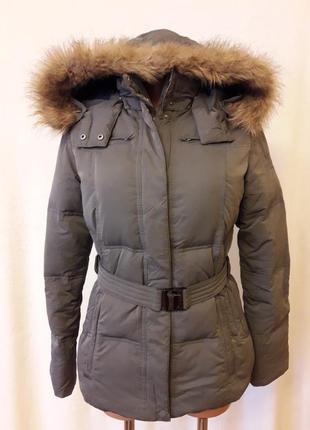 Зимняя пуховая куртка фирмы pepe jeans london размер 10 /38
