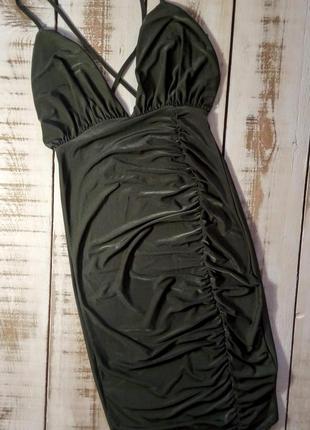 Короткое платье boohoo