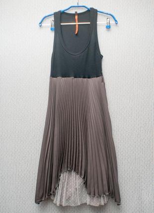 Очень необычное стильное платье cop.copine