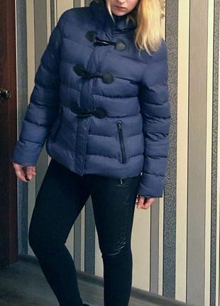 Теплая классная брендовая куртка от brave soul !!! (0064)