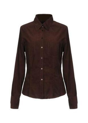 Вельветовая  рубашка  yessica