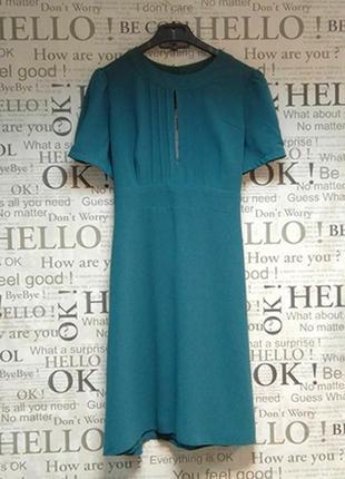 Платье цвета морской волны topshop