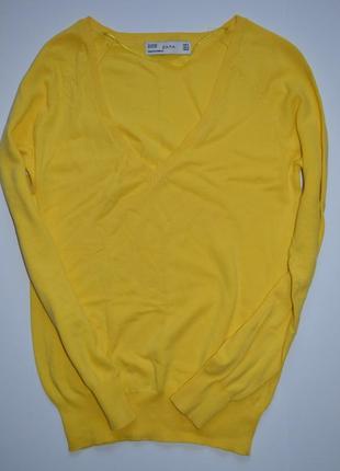 Базовый джемпер свитер реглан zara