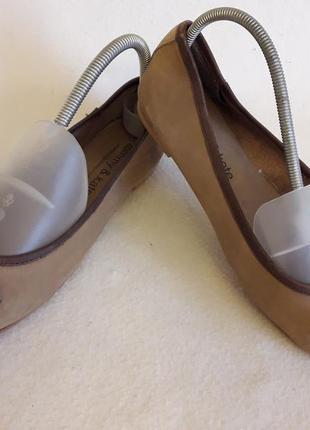 Брендовые кожаные мокасины, туфли фирмы tommy & kate with swarovski p. 39 стелька 25,5 см
