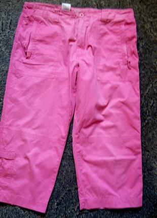 Розовые бриджи с пятью карманами от peter storm