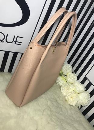 Пудровая сумочка на каждый день