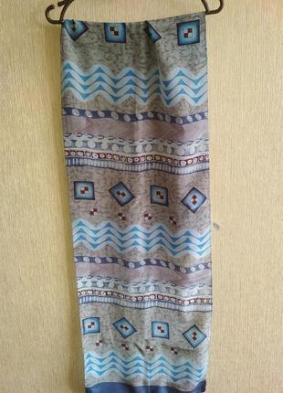 Прекрасный 💯 шелковый шарф