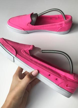 Балетки,балерины nike vrona original розового цвета,женские тапочки 42