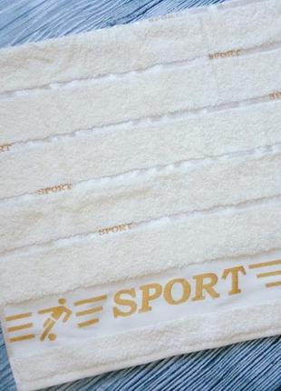 50х90 см махровое полотенце cestepe vip cotton спорт