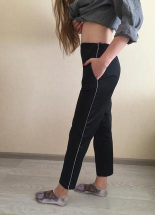 Повседневные спортивные штаны из атласной ткани