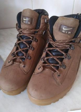 Ботинки nike air 40 р 25 см кожа , indonesia acg