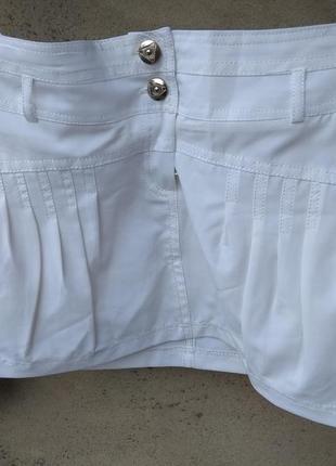 Белая юбочка