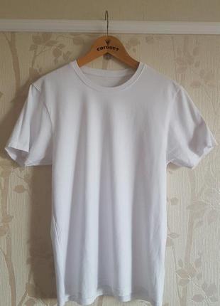 Белая футболка easy