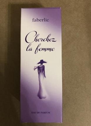 Парфюмерная вода для женщин cherchez la femme от faberlic