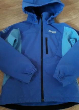 Куртка softshell на 7-8 лет