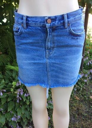 Джинсовая юбка allsaints