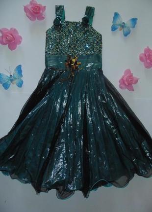 Элегантное вечернее выпускное нарядное платье