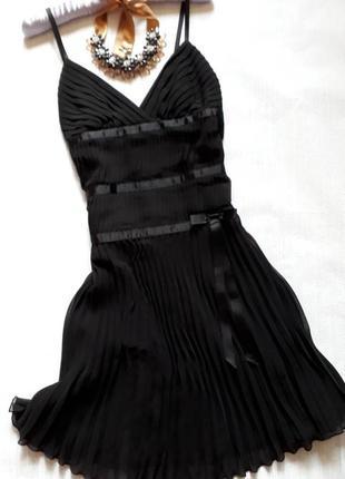 Платье чёрное morgan