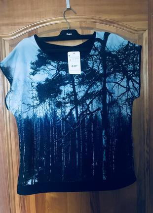 Блуза/футболка с принтом