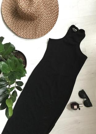 Макси платье с открытой спинкой от missguided