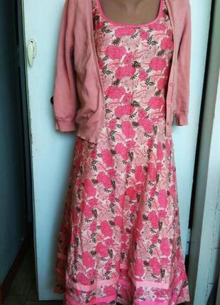 Ann taylor платье l 12