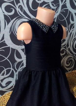 Нарядное платье с камнями, next,4-5л.2