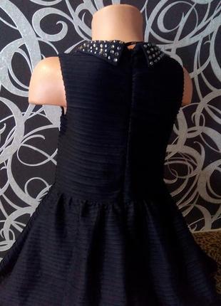 Нарядное платье с камнями, next,4-5л.3