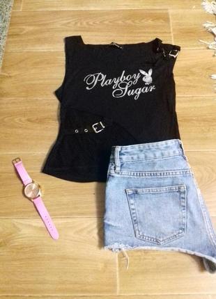 Модная футболка  от playboy