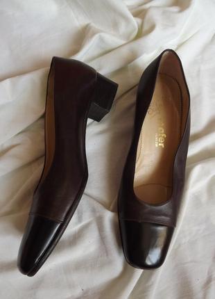 Кожаные итальянские туфли мafer