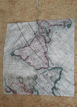 Платок косынка география