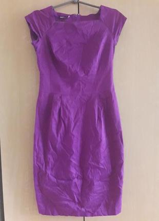 Красивое платье футляр миди