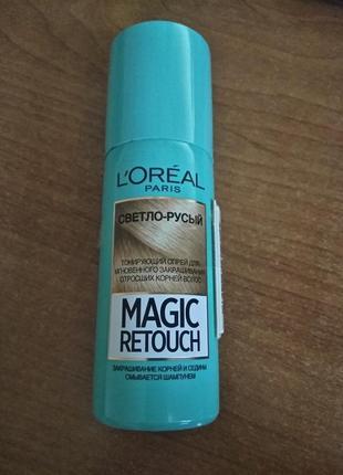 Тонирующий спрей для волос l'oreal paris magic retouch