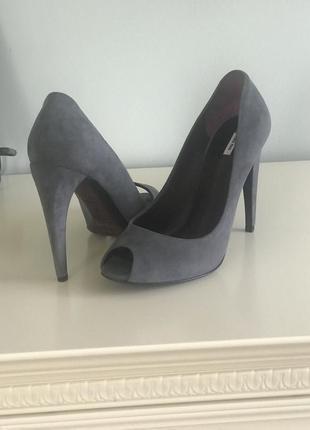 Дизайнерські туфлі miu miu оригінал!!! початкова ціна 290$!!! купувала собі зі знижкою!