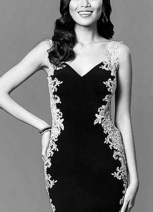Платье коктейльное вечернее jovani jvn1