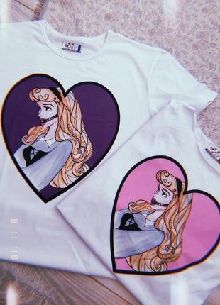 Дизайнерская футболка с принтом